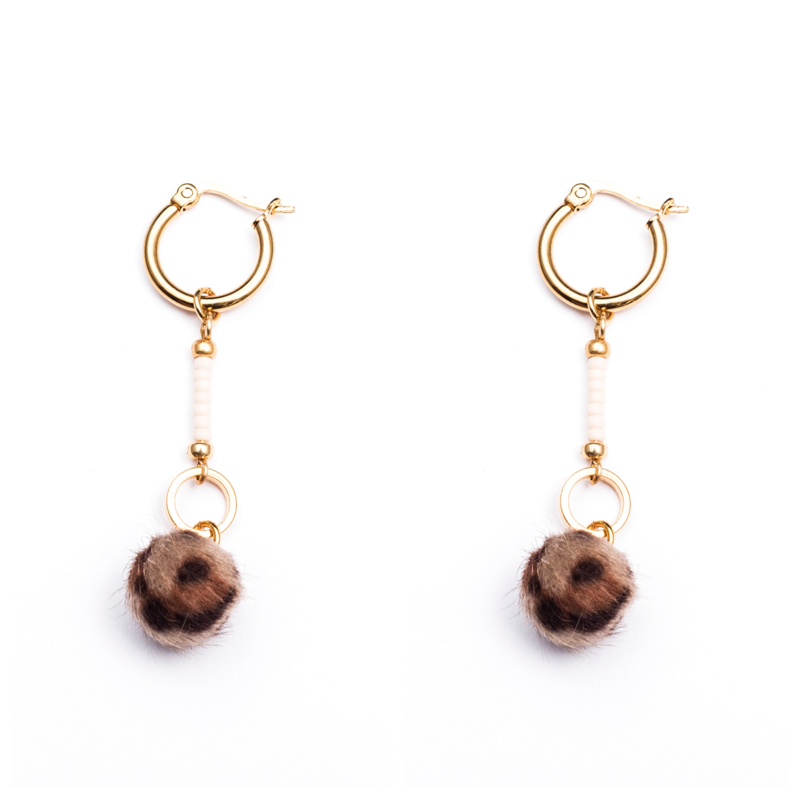 Melz - Earring Petit Isabelle Cream Brown