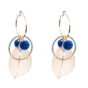 Melz - Earring Rose Blue