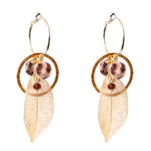 Melz - Earring Rose Brown