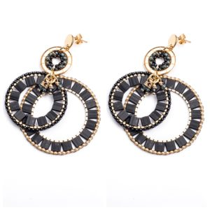 Melz - Earring Yara Black
