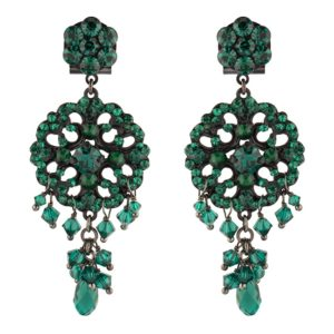 Satellite Paris - Chiara Earrings Emerald KIA02TPEM
