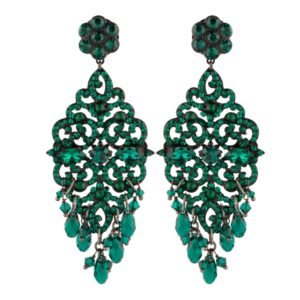 Satellite Paris - Chiara Earrings Emerald KIA07TPEM