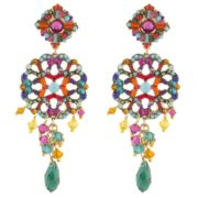 Satellite Paris - Chiara Earrings Multi Gold KIA02TPM