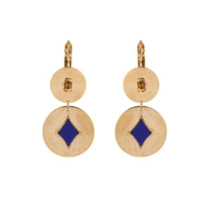 Satellite Paris - Earrings June Lapis JUN05DOL