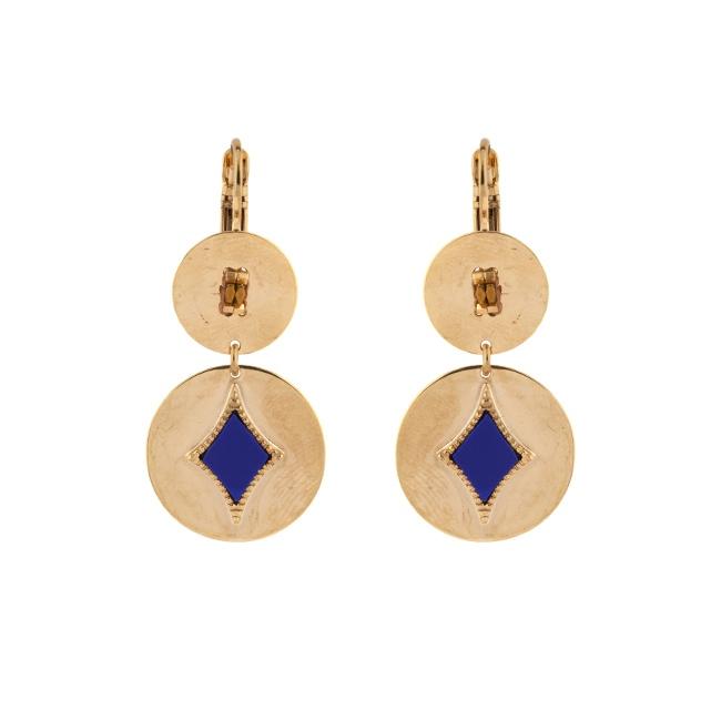 Satellite Paris - Earrings June Lapis JUN05DOL