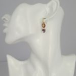 Une a Une - Earrings Pacifique Blush BORVB model