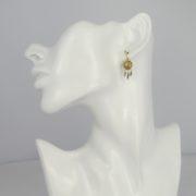Une a Une - Earrings Pacifique Gold BORVD model