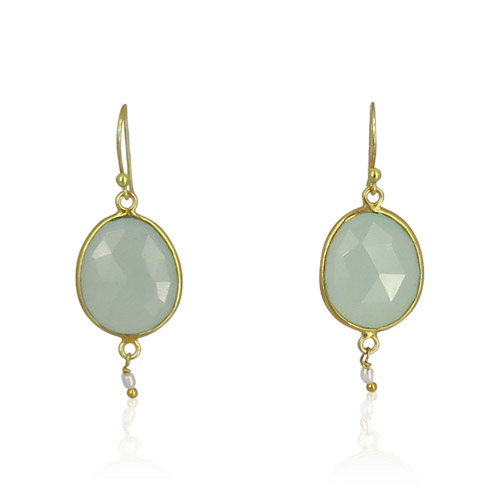 Atelier Sud - Anna Green Earrings