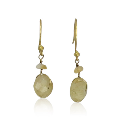 Atelier Sud - Earrings Silve Citrine