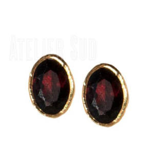 Atelier Sud - Lyts Granate Studs