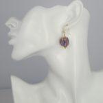 Atelier Sud - Nora Pink Earrings model