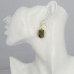 Atelier Sud - Nora Yellow Earrings model