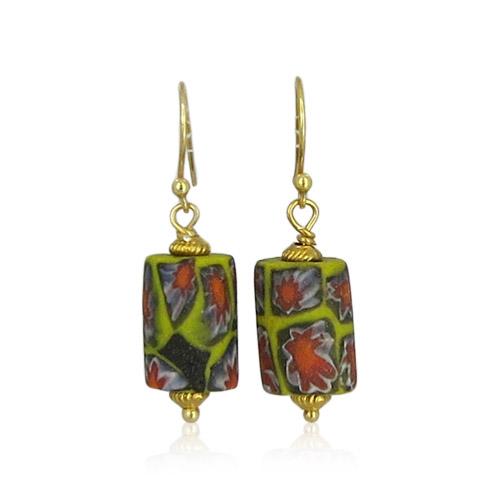 Atelier Sud - Nora Yellow Earrings