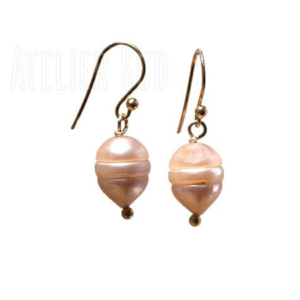Atelier Sud - Perla Pink Earrings