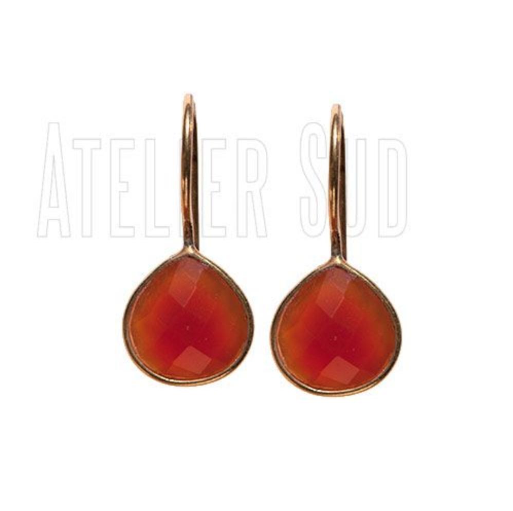 Atelier Sud - Poppy Orange Carnelian