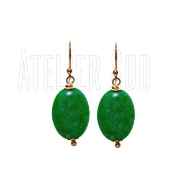 Atelier Sud - Tes Green Chalcedone
