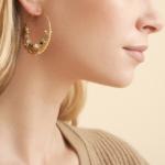 Gas Bijoux - Comedia Brown Earrings model 2