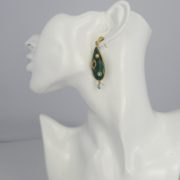 Gas Bijoux - Pierrot Earrings Green model