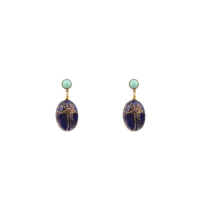 Satellite Paris - Sirine Earrings SIR02TPL