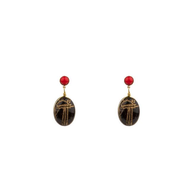 Satellite Paris - Sirine Earrings SIR02TPN