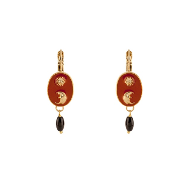Satellite Paris - Sirine Earrings SIR03DOR