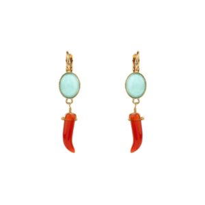 Satellite Paris - Sirine Earrings SIR05DOR