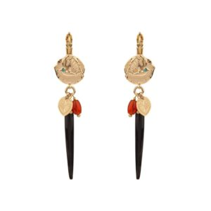 Satellite Paris - Sirine Earrings SIR06DON