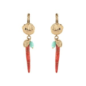 Satellite Paris - Sirine Earrings SIR06DOR