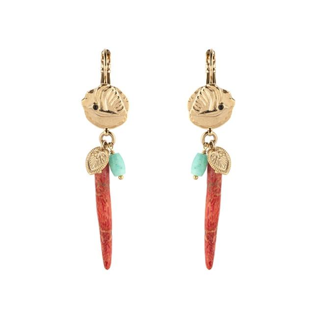Satellite Paris - Sirine Earrings SIR06DOR