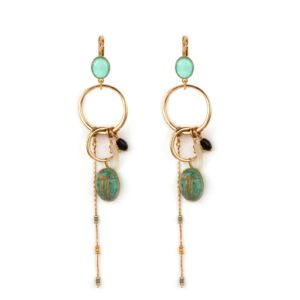 Satellite Paris - Sirine Earrings SIR100DOT