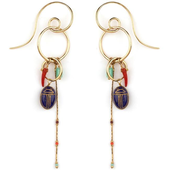 Satellite Paris - Sirine Earrings SIR10TPL