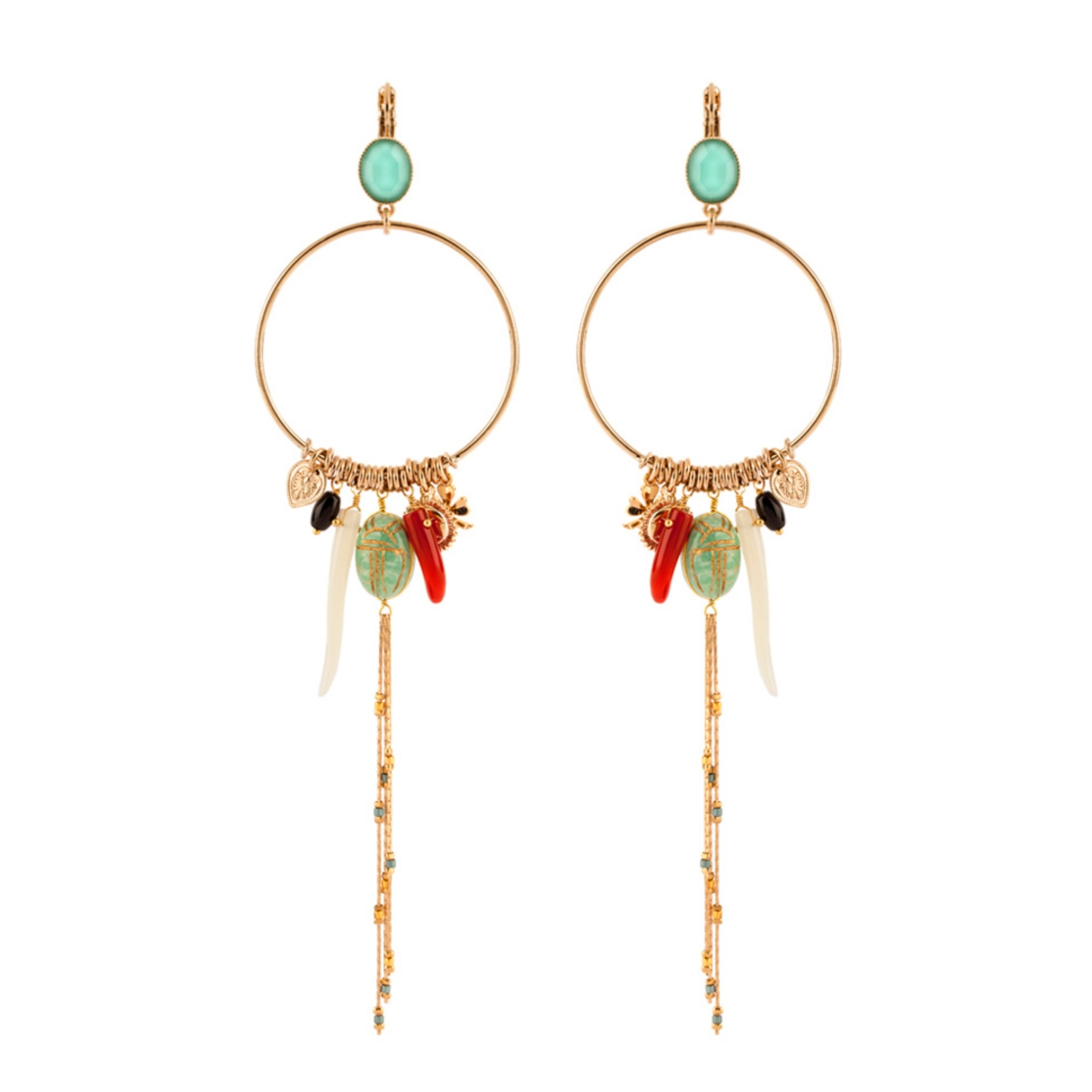 Satellite Paris - Sirine Earrings SIR150DOT