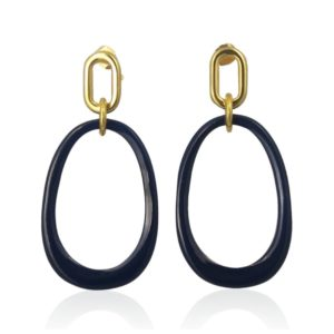 Lara Design - Earrings Dark Blue 2