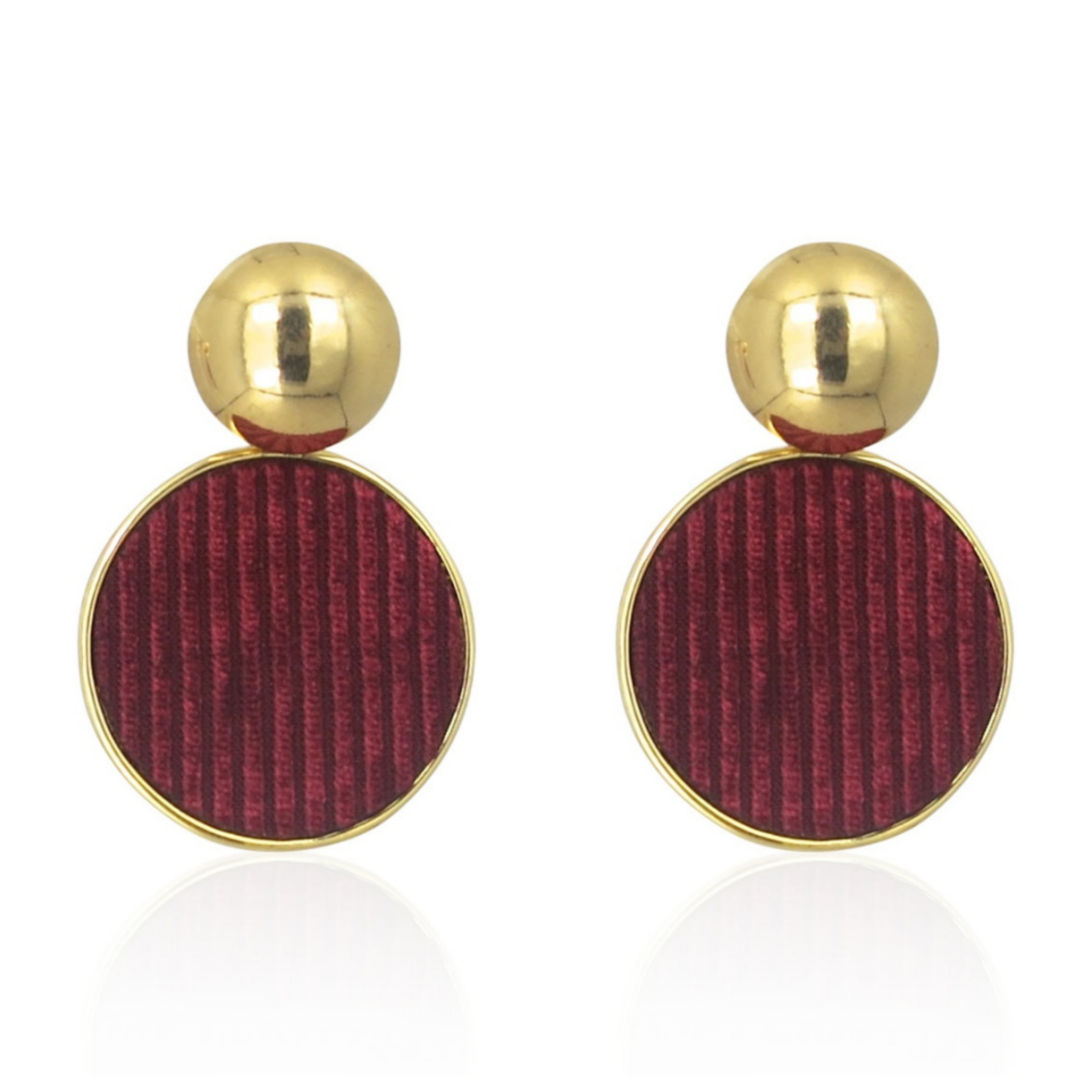 Lara Design - Earrings Red Velvet a