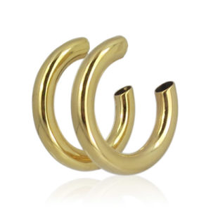 Lara Design - Golden Hoops