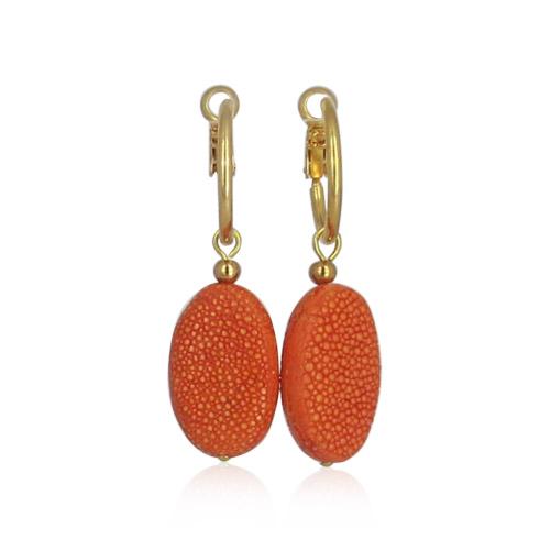 Lara Design - Orange Hoops