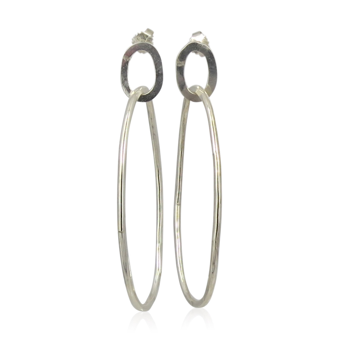 ZAZ - Earrings Silver 03