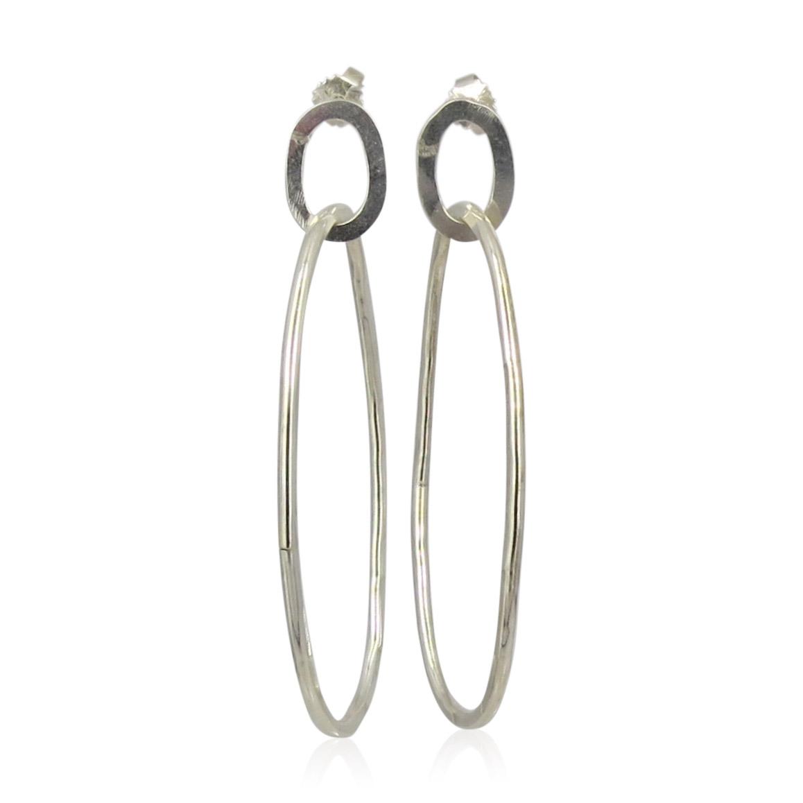 ZAZ - Earrings Silver 03