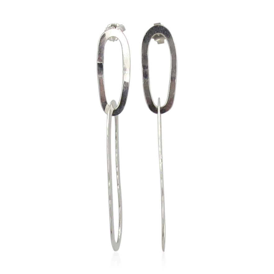 ZAZ - Earrings Silver 04