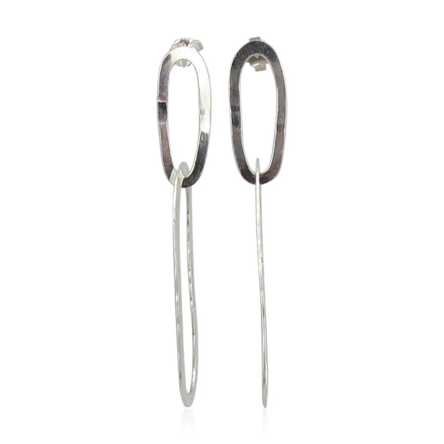 ZAZ - Earrings Silver 04