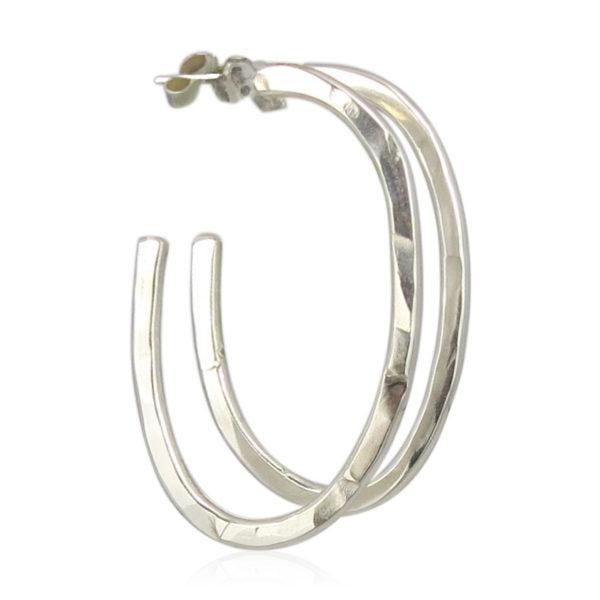 ZAZ - Earrings Silver 09