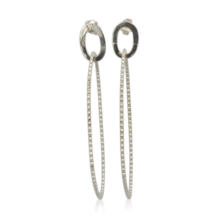 ZAZ - Earrings Silver 11