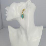 Gas Bijoux - Arizona Turkoois Earrings model