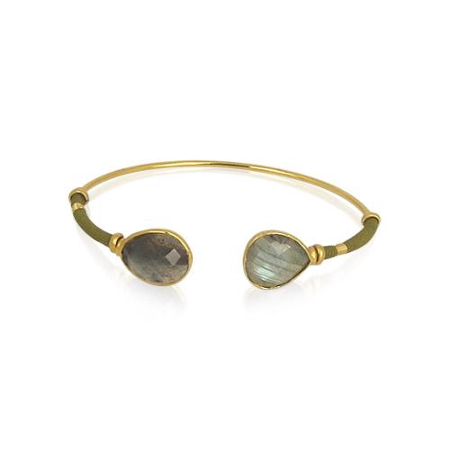 Gas Bijoux - Duality Bracelet Labradorite