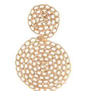 Gas Bijoux - Onde Gourmette Gold Earrings single