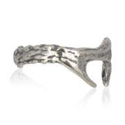 Gem Kingdom - Silver Ring Branch R17d28 zz