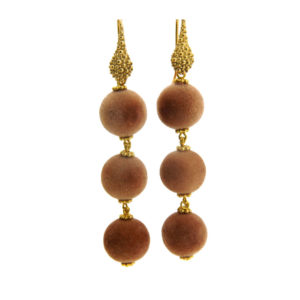Lilly Jewelry - Earrings Camel Gold