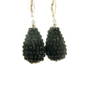 Lilly Jewelry - Silver Grape Drop Black