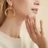 Gas Bijoux - Sorane Earrings Gold model