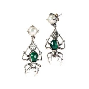 Gem Kingdom - Earrings 18a05 Green